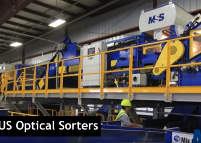 MSS CIRRUS® Optical Sorter for HDPE and PET