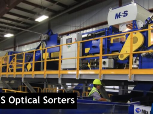 MSS CIRRUS Optical Sorter for HDPE and PET