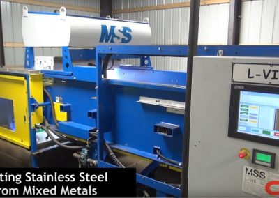 L-VIS Optical Sorter for Stainless Steel
